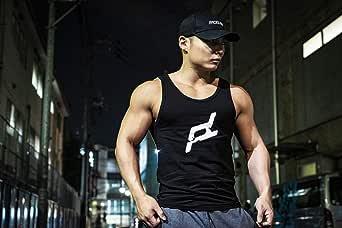 FACELESS 胸ロゴタンクトップ メンズ トレーニング ノースリーブ ベスト ジム用 筋トレ ウェア 袖なし 男性 おしゃれ ボディビル スポーツ