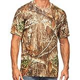 Realtree Edge Camo Light Weight Performance Men's Short Sleeve Shirt