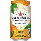 Sanpellegrino (サンペレグリノ) オレンジ 微炭酸 330ml×24本 並行輸入品
