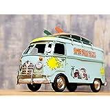 ブリキおもちゃ オブジェ 模型 ビンテージカー サーフバス アメリカ雑貨 アメリカン ハワイ ハワイアン ビンテージ アンティーク