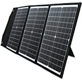 PAXCESS ソーラーパネル 60W ソーラーチャージャー QC3.0 Type-C 急速充電 23%高変換効率 折り…