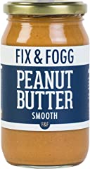 Fix and Fogg Smooth Peanut Butter, 375g