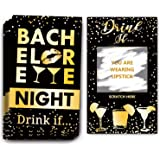 Bachelorette Party Drinking Games - Drink If Games Scratch Off Cards - Perfect for Girls Night Out Activity,Bridal Showers,Br