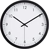 Amazonベーシック 掛け時計 トラディショナル 約30cm ブラック