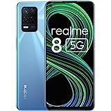 realme 8 5G Mobile Phone, Sim Free Unlocked Smartphone with Dimensity 700 5G Processor, 90Hz Ultra Smooth Display, 5000mAh Ma