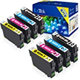 【LxTek】Epson用 PX-048A PX-049A インク RDH-4CL インクカートリッジ 8本セット(4色セット*2) エプソン リコーダー インク 『互換インク/2年保証/大容量/説明書付/残量表示/個包装』対応機種:Epson PX-048A PX-049A
