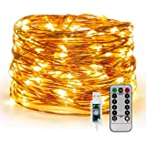 Window Curtain String Light 300 LED 8 Lighting Modes Fairy Lights Remote Control USB Powered Waterproof Lights for Christmas
