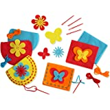 Serabeena Sew Your Own Purses - Easy and Fun to Do Sewing Kit for Kids