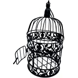 PET SHOW Round Birdcages Wedding Gift Cards Holder Metal Wall Hanging Bird Cage for Small Birds Party Indoor Ourdoor Decorati