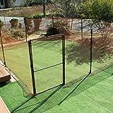 DAIM ドア付ドッグランセット(高さ140cm) お庭を囲むことができるロングサイズです。 愛犬のドッグランはもちろん、小動物の侵入防止にも使えます!(本体+ドア)