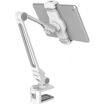 ZenCT タブレット ホルダー ipad スタンド スマホとタブレット両用 折りたたみ 360度調整 アーム式 iPad mini/iPad air/iPad2/3/4/ Nexus 7/ Kindle等に対応 WH035