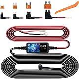 Dash Cam Hardwire Kit, Mini USB Hard Wire Kit Fuse for Dashcam, Plozoe 12V-30V to 5V Car Dash Camera Charger Power Cord, Gift