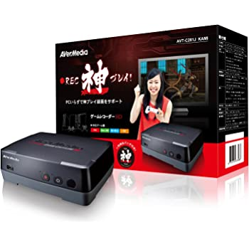 AVerMedia ゲームキャプチャーHD AVT-C281JKAMI 限定版 PC不要で神プレイ録画をサポート (神プレイ缶バッチ付)  日本正規代理店品 DV357 AVT-C281JKAMI
