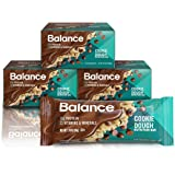 Balance Bar, Healthy Protein Snacks, Cookie Dough, With Vitamin A, Vitamin C, Vitamin D, and Zinc to Support Immune Health, 1