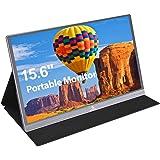 2020 [Upgraded] Portable Monitor - NexiGo 15.6 Inch Full HD 1080P IPS USB Type-C Computer Display, Eye Care Screen with HDMI/