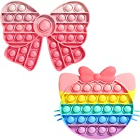 Coolden スクイーズ玩具フィジェットおもちゃ プッシュポップポップ バブル感覚 減圧グッズ ストレス解消 洗える可…