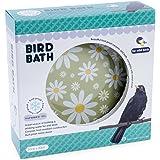 Petface Daisy Design Ceramic Bird Bath