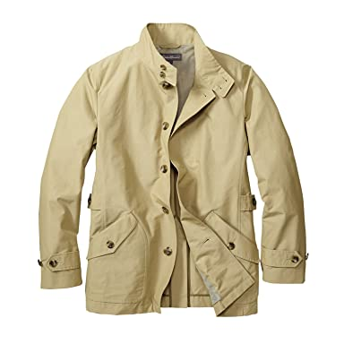 Stand Collar Short Coat 019712: Light Khaki
