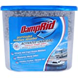 DampRid Fragrance Free Disposable Moisture Absorber for Boats and RVs with Activated Charcoal – 18 oz.; Odor Absorber & Remov