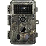 GardePro A3 Trail Camera (2020), 20MP, 1080P H.264 HD Video, Clear 100ft No Glow Infrared Night Vision, 0.1s Trigger Speed, 8