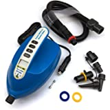 Seamax Intelligent 20PSI Digital 12V Electric Air Pump Designed for Inflatable SUP & Paddle Board Fast to Reach High Pressure