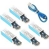 for Arduino Nano V3.0,Keywish Mini V3.0 USB Nano ATmega328P 5V 16M Micro Controller Board Welded Module (5PCS)