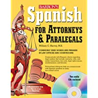 Spanish for Attorneys and Paralegals with Online Audio (Barr…