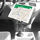 Cellet Tablet Mount with a Cup Holder Base Compatible for Apple iPad Pro 12.9 Air Mini 4 3 2 Air Samsung Galaxy Tab S5e S4 S3