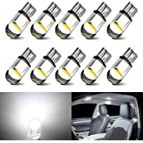 194 LED Bulbs White 168 LED Bulb T10 LED Bulbs W5W LED Wedge Light Bulb 194 Bulb 921 2825 158 192 W5W LED Replacement Bulb fo