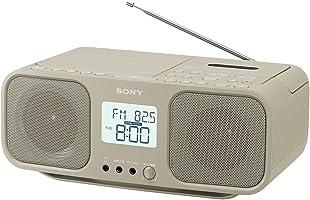 ソニー SONY CDラジオカセットレコーダー CFD-S401 : FM/AM/ワイドFM対応 大型液晶/カラオケ機能搭載 電池駆動可能 ベージュ CFD-S401 TI