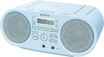 ソニー SONY CDラジオ ZS-S40 : FM/AM/ワイドFM対応 ブルー ZS-S40 L