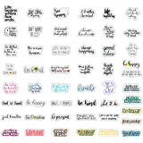 50Pcs Reward Motivational Decal Stickers for Students,Teachers and Company Employees,Waterproof Durable Trendy Vinyl Laptop D