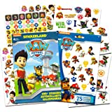 PAW Patrol Stickers & Tattoos Party Favour Pack (295 Stickers & 75 Temporary Tattoos) by Stickerland