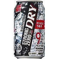 【糖類ゼロ プリン体ゼロ】 サントリー チューハイ-196℃ストロングゼロ Dry [ チューハイ 350ml×24本…