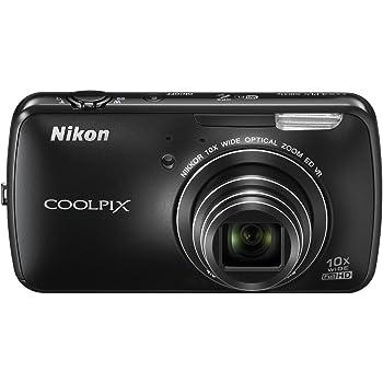 Nikon デジタルカメラ COOLPIX S800c Android搭載 光学10倍ズーム ブラック S800CBK