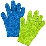 簡単! お掃除手袋 2色組