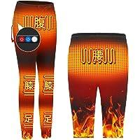 Zenoplige 電熱パンツ 加熱パンツ 防寒 保温 ホット 服 6つヒーター ウェア 温度3段階調整 水洗い可 プレ…