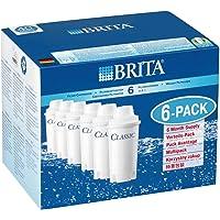 【並行輸入品】 本家本元ドイツのブリタ(BRITA)クラシック(CLASSIC) 【新品大箱6個入り】ブリタクラシック浄…