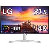 LG フレームレス モニター ディスプレイ 32UN550-W 31.5インチ/4K/HDR/VA非光沢/HDMI×2…