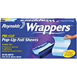 Reynolds Wrappers Aluminum Foil Pop Up & Sheets, 50 Count