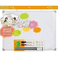 ホワイトボード Lサイズ 磁石が使える タテヨコ両用 VWB062