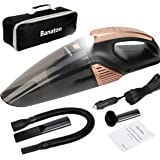 Banaton Car Vacuum Cleaner 5000PA 106W 12V Car Vacuum with LED Light Low Noise Wet and Dry Use Auto Vacuum Cleaner with 16.4F