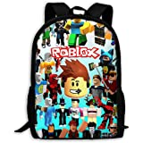 Reneealsip R-Oblo-X Backpack School Bookbag Travel Rucksack Durable Daypack 17in