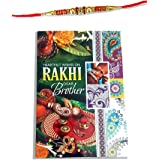 Red and Silver Beads Designer Rakhi for Bhaiya, Brother Rakhee,Raksha Bandhan Gift for Your Brother Rakhi for Brother,Rakhi B