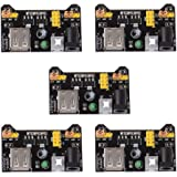 HiLetgo 3.3V 5V Power Supply Module for Mb102 102 Prototype Board Breadboard