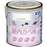アサヒペン NEW水性インテリアカラー屋内カベ 0.7L バニラホワイト