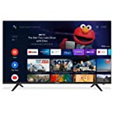 Caixun 55 Inch 4K TV UHD Smart LED TV, 2160P Ultra HD Resolution Television with HDR Voice Remote Control, Support Google Ass