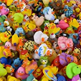 The Dreidel Company Assortment Rubber Duck Toy Duckies for Kids, Bath Birthday Gifts Baby Showers Classroom Incentives, Summe