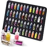 VOLODIA 48 Bottles Nail Art Sequins Glitter Shine Powder Manicure Decoration Nail Glitter Powder Sequins Manicure Sticker Des