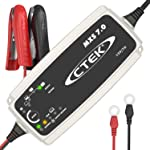 CTEK MSX 7.0 12V 7 Amp Fully Automatic Battery Charger, Charges, Maintains and Reconditions Car, Caravan  & Motorhome...